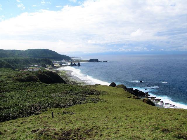 shoreline green island taiwan