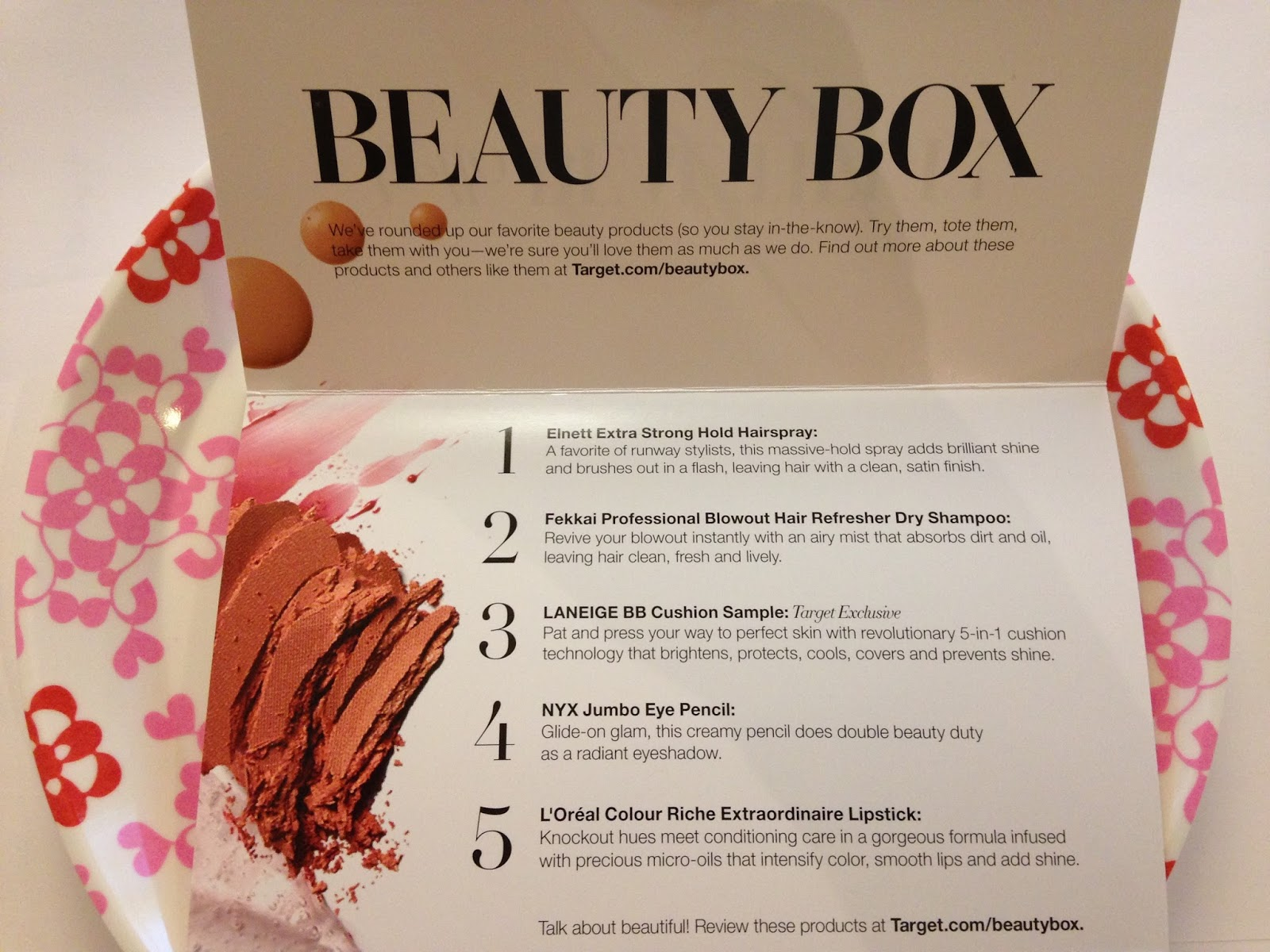 Tracy's Notebook of Style: Target Fall Beauty Box + Coupons!
