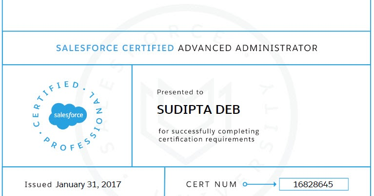 Salesforce Advanced Administrator Certification Tips Salesforce