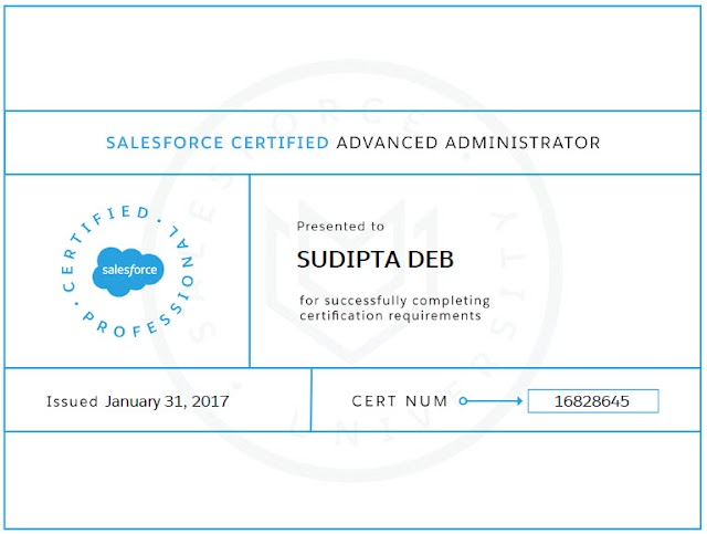 Salesforce Advanced Administrator Certification Tips