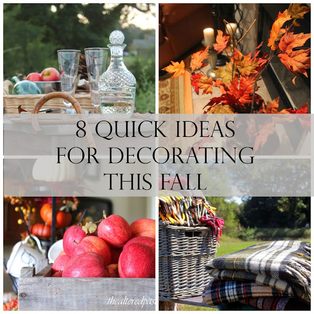 8 quick ideas for decorating this fall