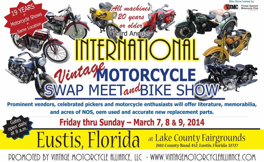 vintage motorcycle swap meet north carolina