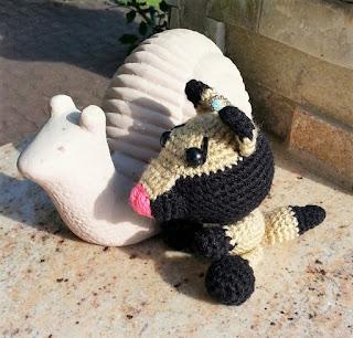 Big Bad Wolf doll, Big Bad wolf crochet, wolf amigurumi, crocheted ...   306x320