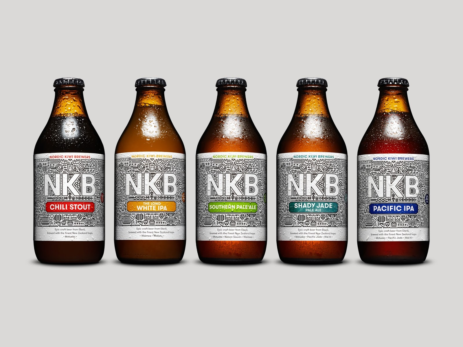 Nordic Kiwi Brewers on Packaging of the World  Creative