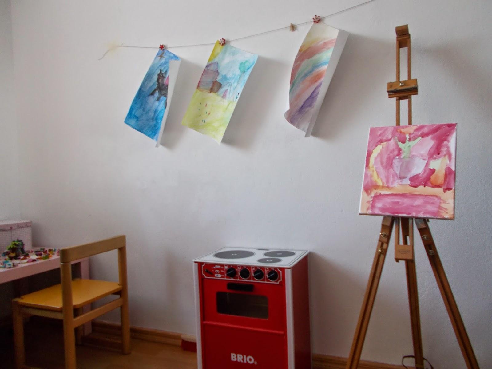 taide ja lastenhuone