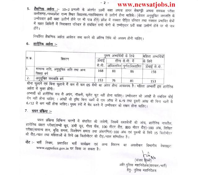 chhattisgarh+police+recruitment+advt2+2016