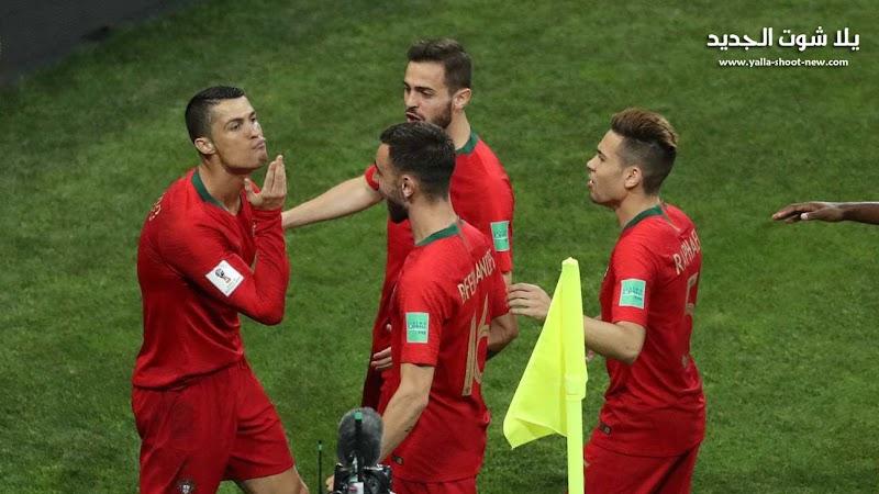 كريستيانو رونالدو يقود البرتغال الى نهائي دوري الأمم الأوروبية بالفوز علي سويسرا