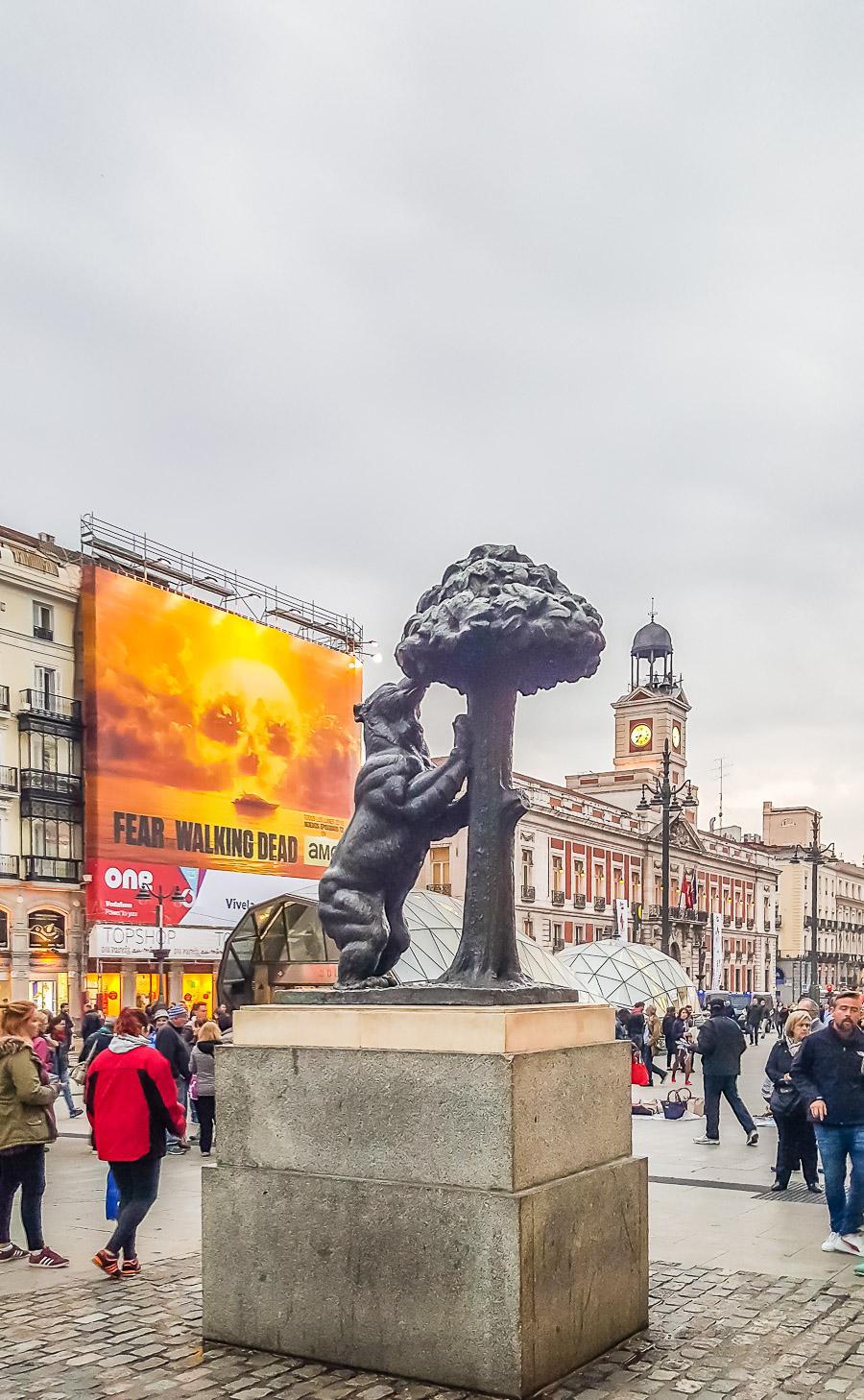 El Oso y El Madroño (Madrid, Spain)