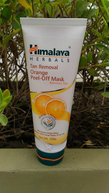 Himalaya Tan Removal Orange Face Mask Review