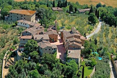 Tuscan borgo of Tignano