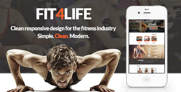 Gym & Fitness website Template