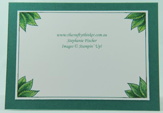 #thecraftythinker  #stampinup  #serenegardenbundle , Serene Garden Bundle, Better Together, Stampin' Up Australia Demonstrator, Stephanie Fischer, Sydney NSW