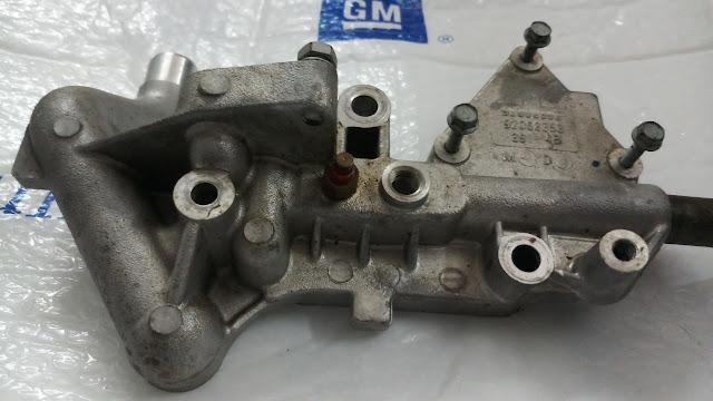 Giá bắt van tuần hoàn khí xả xe Captiva chính hãng GM