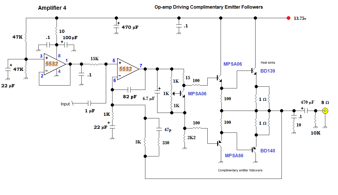 Amp Circuit That Utilizes A Common Lm386 Amp That Will Boost Your