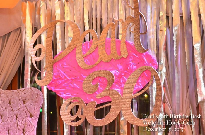 Pearl's Fabulous at 30 - Wellcome Hotel Cebu