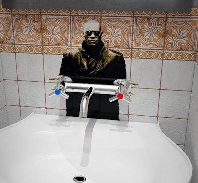 Waschbecken witzige Idee