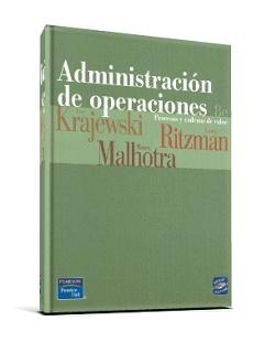 administracion de operaciones krajewski ritzman
