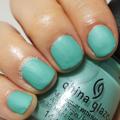 China Glaze Seas and Greetings - Partridge in a Palm Tree | Kat Stays Polished