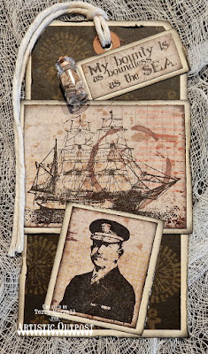 Artistic Outpost Stamp Set: The Captain, Vagabond Treasures Paper Collection