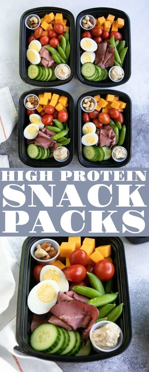 PROTEIN SNACK PACK – LUNCH MEAL PREP #protein #snack #pack #lunch #meal #prep #healthysnack #healthysnackideas #healthyfood #healthyrecipes