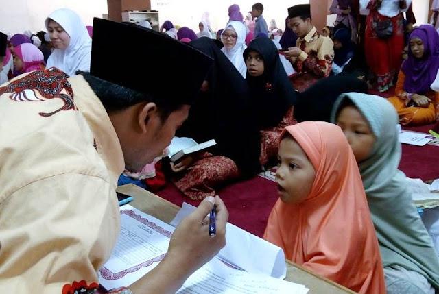 Subhanallah, Baru 7 Tahun Sudah Jadi Penguji Wisuda Hafidz Qur'an