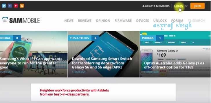 Sammobile firmware website | Need Firmware MIRROR from Sammobile