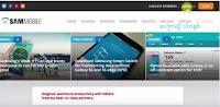 sammobile website Log In