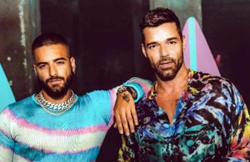 Maluma & Ricky Martin - No Se Me Quita