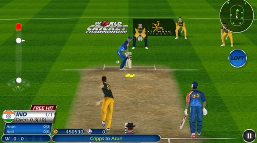 cricket games free  for pc websites