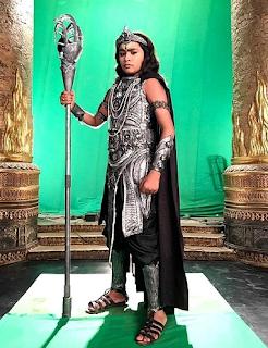 Foto Kartikey Malviya Shani muda di serial Tv Shani
