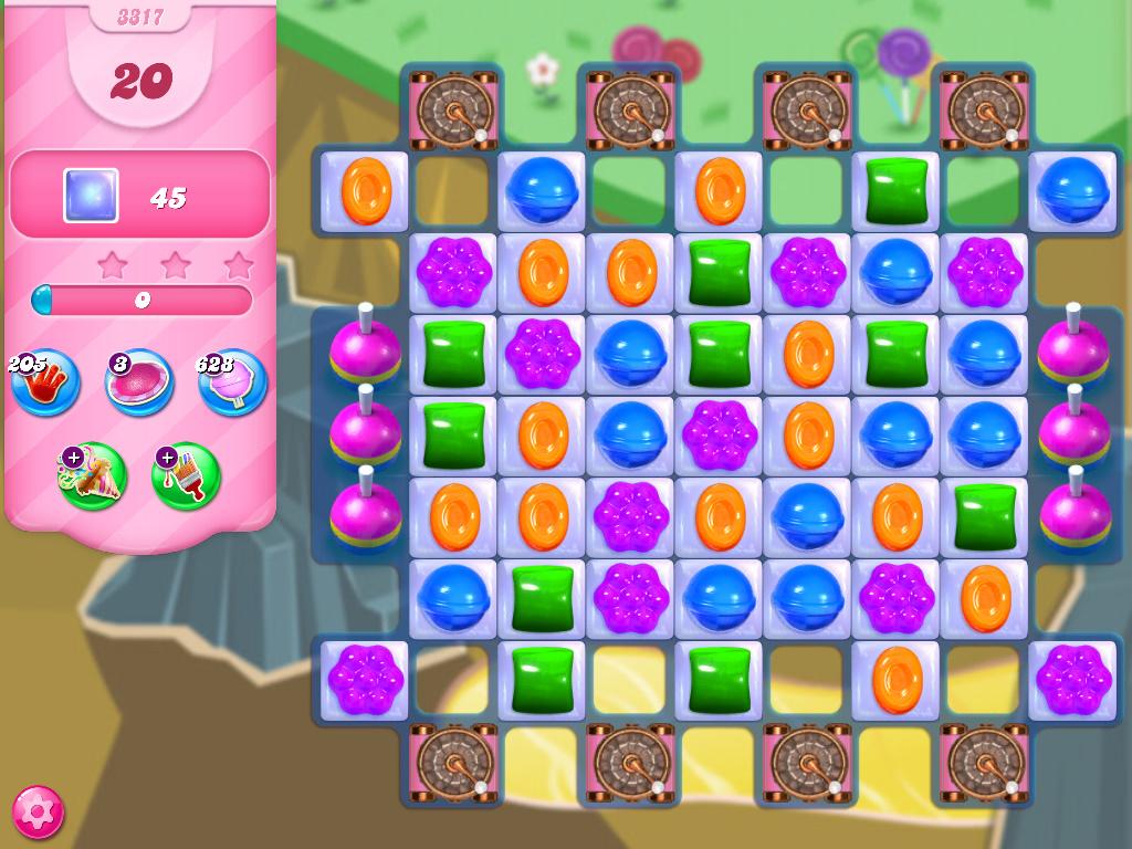 Candy Crush Saga level 3317