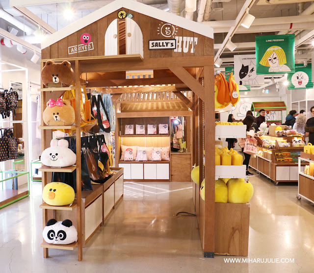 line friends store itaewon
