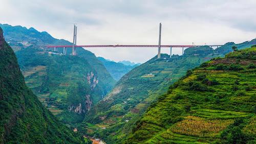 Ponte mais alta do mundo - Gigantes do Mundo