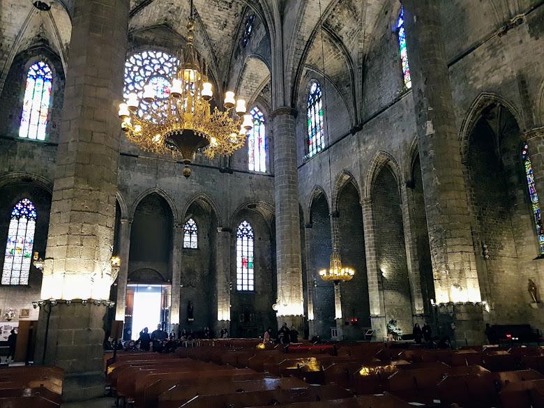 海洋聖母聖殿內部