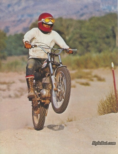Harley Davidson Aermacchi Baja 100 1969 - 1972
