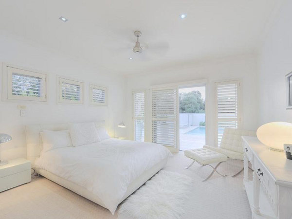 Completely White Home Design Queensland Australia Most