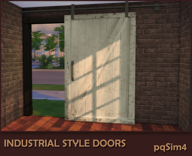 Industrial Style Decor Doors. Puerta 3