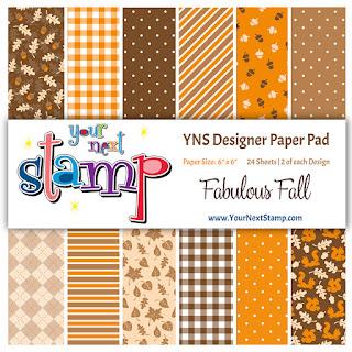 Designer Paper Pad Fabulous Fall
