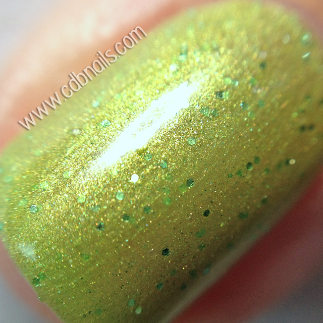 FVS Nail Polish-Lime Zest