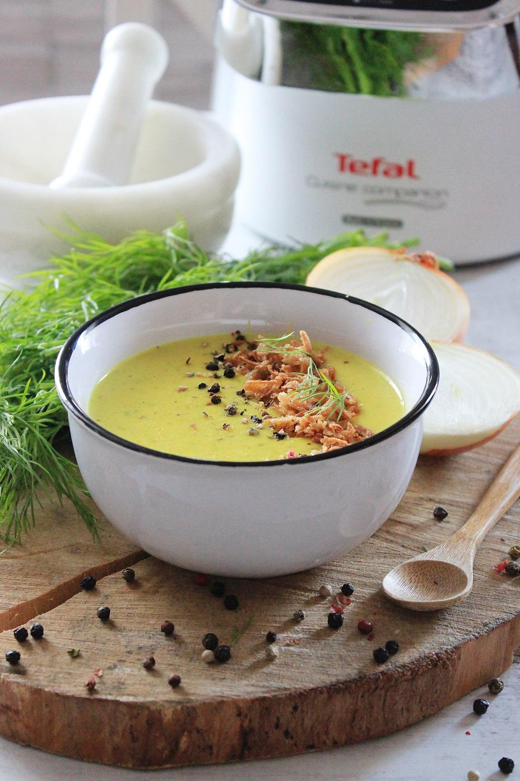 Zupa Krem Serowo Cebulowa Tysia Gotuje Blog Kulinarny