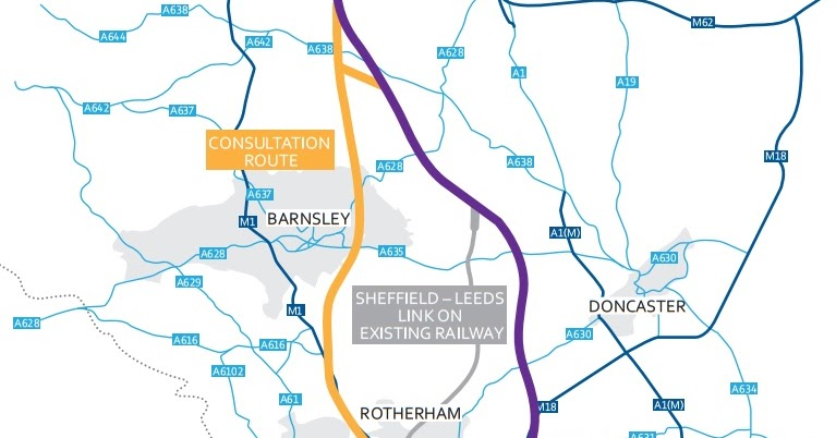 rotherham business news News How new HS2 route would affect Rotherham