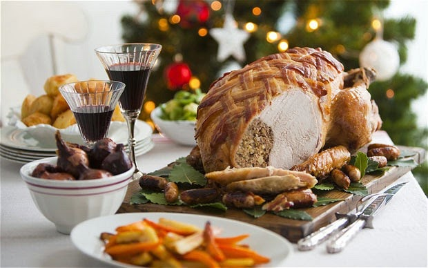 Christmas Turkey to Celebrate Christmas With Pud for all Season