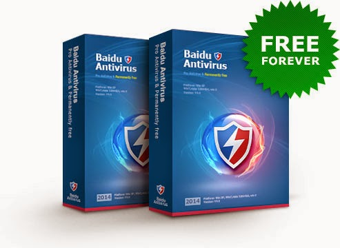 baidu antivirus, freeware