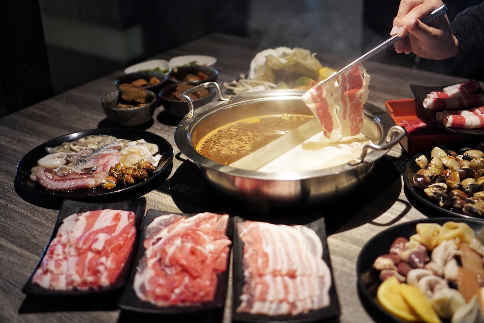 台南東區美食【XM麻辣鍋德安店】牛肉