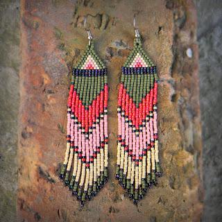 интернет магазин авторских украшений ручной работы  этнические украшения из бисера