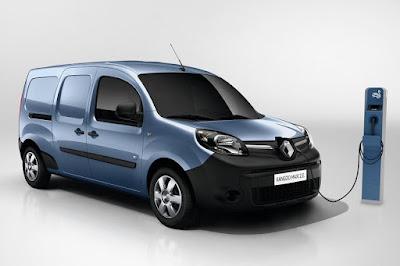 Renault Kangoo Maxi Z.E. (2017) Front Side