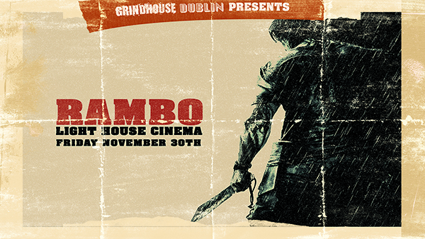 Rambo poster grindhouse dublin