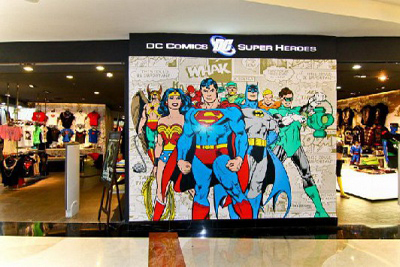 Loker DC Comics Superheroes Indonesia