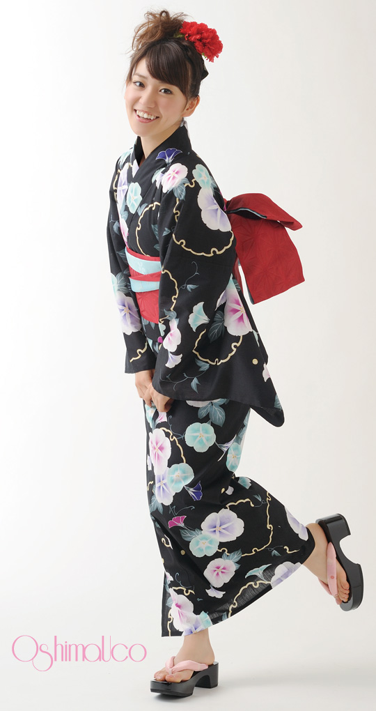 Yukata is a kind of kimono. Yukata is an informal kimono for summer wear or  after a bath. It is made of cotton. Japanese people wear it on the occasion  of a ... 37d0eedf2