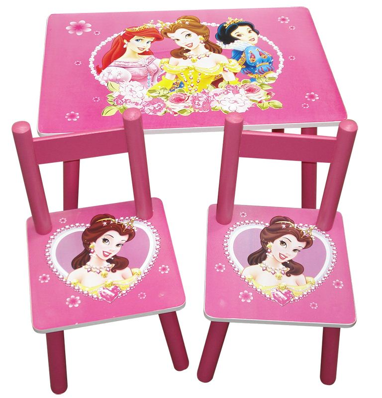 Strange My Cherry Trading Disney Princess Square Table And Chair Set Caraccident5 Cool Chair Designs And Ideas Caraccident5Info